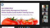 Virtual Online ISO 22000 Lead Auditor Training